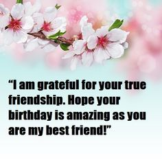 Birthday Wishes for Best Friend Best Birthday Wishes Messages, Best Birthday Quotes, Happy Birthday Cousin, Grateful For You, Attitude Quotes, Hindi Quotes, Blessing, I Am Awesome, Best Friends