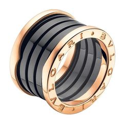 Bulgari Ring. This and the Cartier thick LOVE ring are my dream rings...