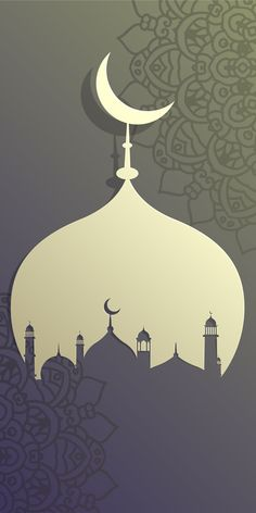 Islamic Wallpaper Iphone, Quran Wallpaper, Watercolor Wallpaper Iphone, Framed Wallpaper, Wallpaper Backgrounds, Wallpaper Ramadhan, Ramadan Poster, Ramadan Background, Architecture Wallpaper