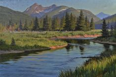 Landscape Paintings by Jay Cameron Moore available at Saks Galleries