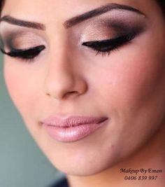 Still Arabic makeup  but has beautiful subtle colors  Not too overwhelming  Pinterest