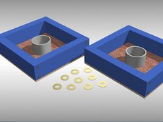 """""""Washers"""" is also known as """"Southern horseshoes"""" and involves throwing washers into a box to score points. Create your own board with some two-by-fours, PVC piping, carpet, and paint. Remember to measure your materials and set a budget for..."""