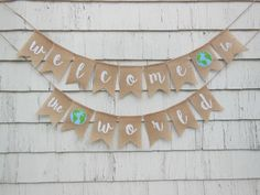 Adventure Awaits Baby Shower Welcome to the World Baby Shower Adventure Baby Banner Travel Baby Shower World Baby Shower World Banner Boho Baby Shower, Baby Shower Favors, Baby Shower Themes, Baby Boy Shower, Baby Shower Decorations, Baby Shower Invitations, Shower Ideas, Baby Theme, Bridal Shower