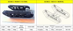 DGCH021 Metal tank chassis_Metal tank chassis_Welcome to DAGU Hi-Tech Electronic Robotics online Shop! - Powered by ECShop