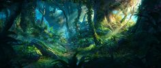 BY: Jordi-Gonzalez-Escamilla-...........Forest- IN 3D.....Click on image to enlarge......