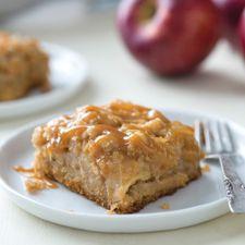 County Fair Caramel Apple Bars: King Arthur Flour