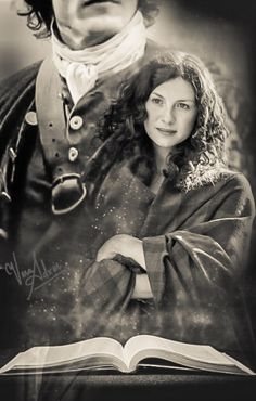 Jamie & Claire Fraser by Vera Adxer