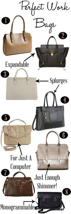 The Esquirette: The Essentials: The Perfect Work Bag