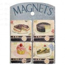 4 magnesy kuchenne, ciastka 4 magnesy kuchenne, ciastka