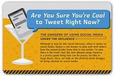 [Infographic] Don't mix social media and alcohol