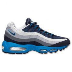 ba08db4535b7 Nike Men s Air Max 95 No Sew Cl Grey Drk Obsdn Wlf Gry