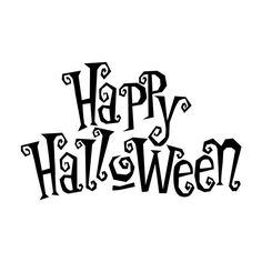 Happy Halloween festive -... ❤ liked on Polyvore featuring halloween, words, text, filler, other, quotes, phrase and saying