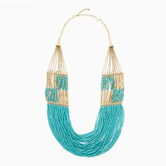 {Tribal Inspired Tiered Necklace} statement piece