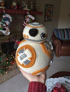 BB8 crochet Christmas