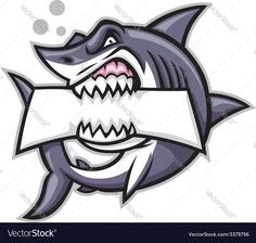 Shark bite a blank sign. Vector of shark bite a blank sign , Logo Desing, Game Logo Design, Logo E Sports, Shark Logo, Shark Shark, New Tattoo Designs, Blank Sign, Shark Bites, Retro Logos