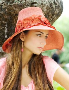 Wide Brim Hat for Women  Panama Straw Hat  by TheMillineryShop, $270.00
