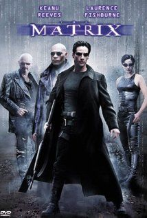 The Matrix (1999) a Wachowski film with Keanu reeves, Laurence Fishburne, Carrie-Anne Moss & Hugo Weaving