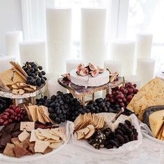There are DIY cheese platters and then these next level, artistically arranged g. Charcuterie Cheese, Cheese Platters, Charcuterie Board, Cheese Table, Food Platters, Gourmet Breakfast, Breakfast For Dinner, Antipasto, Tapas