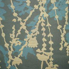 Remnant of Trellis Hybrid Grey Upholstery Fabric