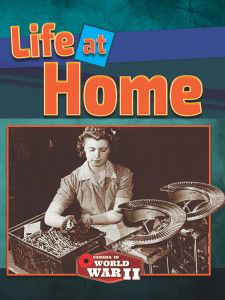 This book is part of the Canada in World War II series and examines life on the Home Front during the conflict. The book explains the background to World War II and covers the contribution of women in the workforce, the wartime economy, the role of the federal government, the treatment of those deemed to be enemy aliens, and features charts, statistics and a series of profiles of leading Canadians.