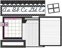 Black Polka Dots Set (TCR9923) « Products | Teacher Created Resources