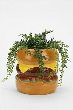 Hamburger Planter