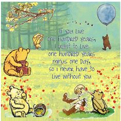 Love pooh.