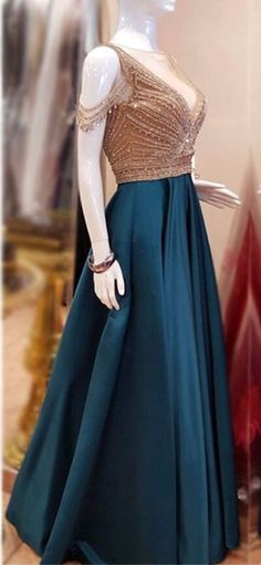 Blue Pink A-line Off shoulder long prom dress,cheap prom gown BD170511