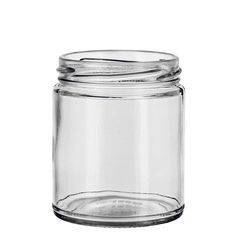 A jar with a clean and fresh look that is easy to wick and is cheap enough to use as a tester.
