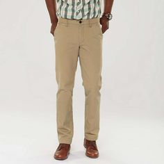 FOSSIL® Clothing Bottoms:Men Richardson Straight Chino MC3955  Don't forget a blue blazer.