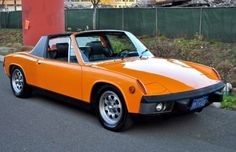 i always wanted one .....Porsche 914 1973.