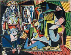 Les femmes d'Alger. Picasso