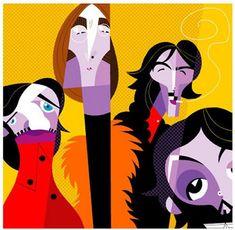 On a tous en tête les croquis déjantés de Pablo Picasso et ses fréquentes atteintes à la modernité. Pablo Lobato prend, à son niveau, le relais et relève le défi de moderniser le cubisme en prenant po