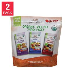 Nature S Garden Organic Trail Mix 24 Count 2 Pack In 2021 Trail Mix Organic Kids Snacks Snacks