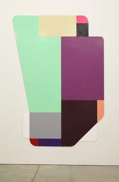 Ruth Root Untitled, 2007-2008 Enamel on aluminum 70 1/4 X 56 in. (178.44 X 142.24 cm)