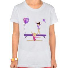 Girls gymnastic tee shirt T Shirt, Hoodie Sweatshirt