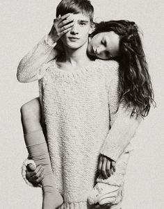 Mona Johannesson and Bo Develius in Stockholm S/S/A/W by Andreas Ohlund