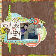 hellohappy-web  scrapbook # page layout