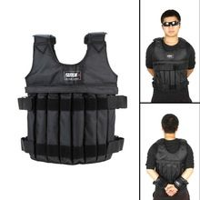 Suteng 20kg Loading Weighted Vest Adjustable Weight Jacket Exercise Boxing Training Waistcoat Invisible Sand Protect Clothing