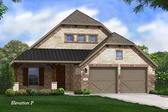 Gehan Homes Homes Palm Model Elevation P $228990+