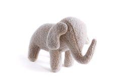 éléphant de laine - cool elephant plush