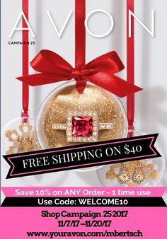 NEW AVON CATALOG 2017 - Shop Christmas Catalog online Today  #Avon #AvonRep #AvonBrochure #shoppingwomen