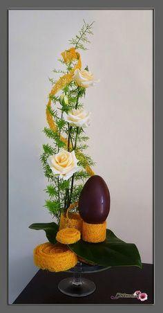 compo art floral paques art floral paques pinterest. Black Bedroom Furniture Sets. Home Design Ideas