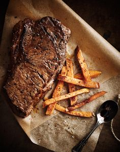 Steak & Potatoes. I'm the Midwest, it will always come back to #meatandpotatoes