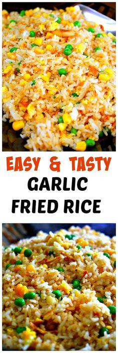 Garlic Fried Rice Recipe