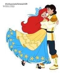 Disney Fan Art, Disney Love, Disney Stuff, Love Drawings, Disney Wallpaper, The Little Mermaid, Ariel, The Dreamers, Disney Characters