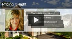 HOLLI'S HOME SELLING TIP: Price is one of the three main factors that determine how marketable your home is. As Knoxville's top real estate team, we know how to price it right the first time. Watch the video here: http://hollimccray.com/selling-your-home  Keller Williams Realty 865-694-5904 Each Office is Independently Owned and Operated Equal Housing Opportunity ‪#‎KnoxvilleRealEstate‬ ‪#‎realestatetip‬