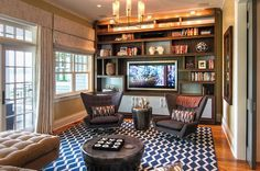Shelving Rec Room Design Ideas For Some Fancy Time at Home