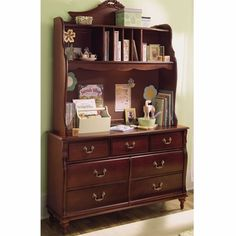 Young America Madison Collection Seven Drawer Double Dresser By Stanley Furniture