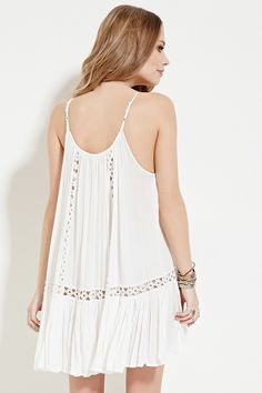 Boho Me Crocheted Cami Dress